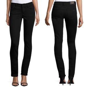DL1961   Grace Straight Black Wash Hail Jeans